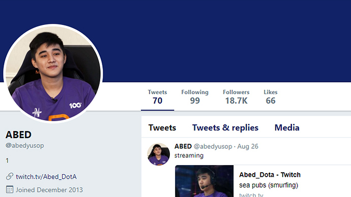 Right after the Dota 2 rosters got finalized last October 3, Filipino  wunderkind and world's first 10K MMR player, Abed, caused a stir in the Dota  2 ...