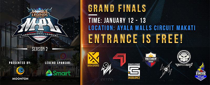 MLBB fans, you might want to visit Ayala Malls Circuit