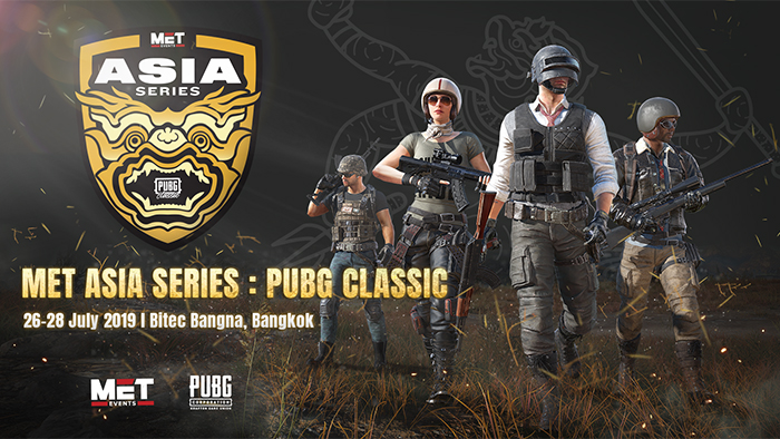 MET Events to Host the Ultimate PUBG Classic Event with PUBG