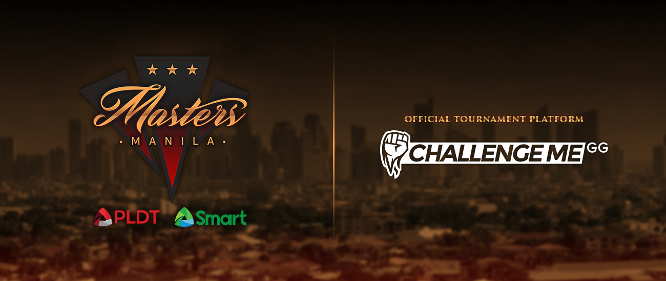challengeme all set as manila masters official qualifier platform