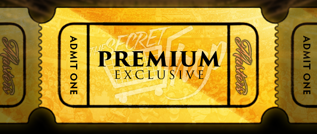 additional premium ticket perks the golden ticket the masters